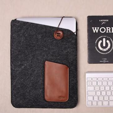 Ovitek za prenosnik z žepom za iPad in iPhone