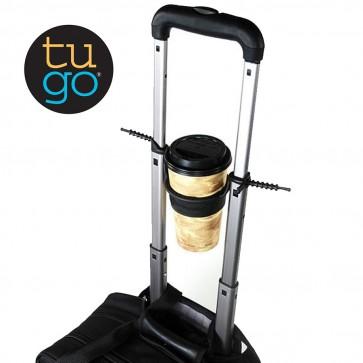TUGO | Držalo za pijačo na ročaju vašega potovalnega kovčka