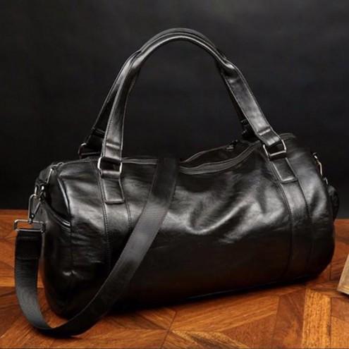 Moška usnjena torba