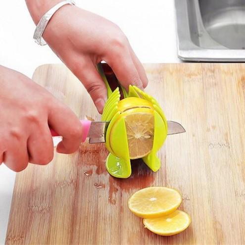 Plastično rezalo za limone, kivi, krompir, paradižnik, jajca