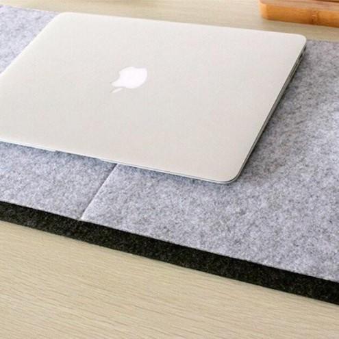 Podloga za pisarniško mizo in računalniško miško