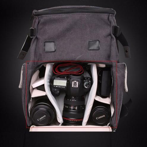 Nahrbtnik za profesionalni fotoaparat v retro izgledu