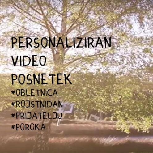 Personaliziran video posnetek