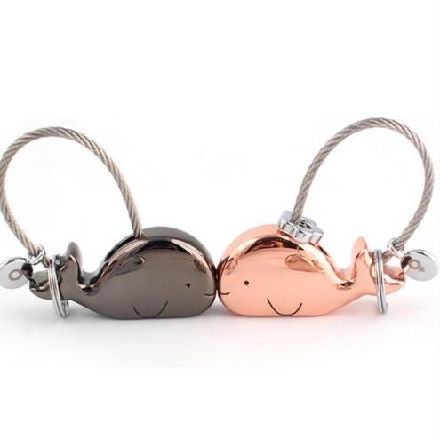 Obesek za ključe za zaljubljence - Kit