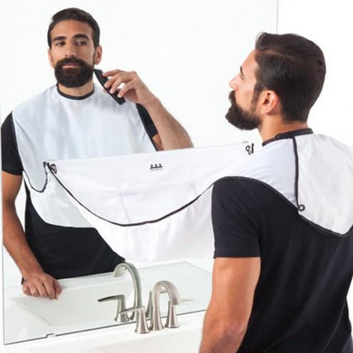 The Beard Bib - Ogrinjalo za britje brade in las